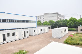 China 100% Finished Prefab Modular Homes For Office , For Bedroom supplier
