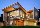 China Luxurious Prefabricated Steel House / Light Steel Frame Prefab Metal House ETC factory