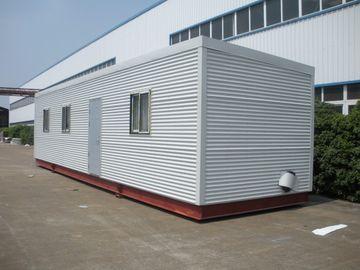 China High Insulation Eco Log Cabin Modular Homes , Green Prefab Modular Log Homes distributor