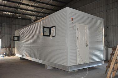 China Steel Frame Prefab Modular Homes , Mobile Guard House For People Living distributor